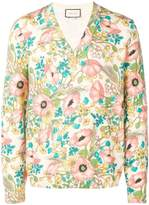 Gucci floral print sweater