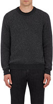 Isaia MEN'S WOOL HERRINGBONE-WEAVE SWEATER