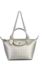 Longchamp Mini Le Pliage Cuir Shoulder Bag