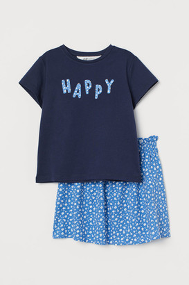 H&M 2-Piece Cotton Set