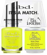 """IBD Advanced Wear - """"It's A Match"""" Duo - Solar Rays - 14ml / 0.5oz Each"""