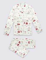 Marks and Spencer Pure Cotton Sparkle Pyjamas (1-16 Years)