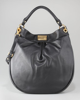 Marc by Marc Jacobs Huge Hillier Hobo Bag, Black