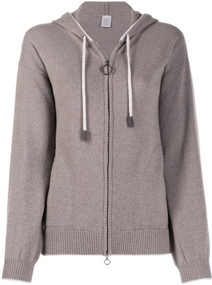 Eleventy Knitted Cashmere Hoodie