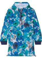 adidas by Stella McCartney Running Blossom Floral-Print Shell Hooded Jacket