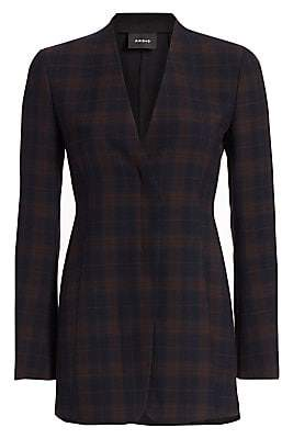 Akris Women's Demton Plaid Blazer