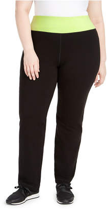 Ideology Plus Size Flex Stretch Active Yoga Pants