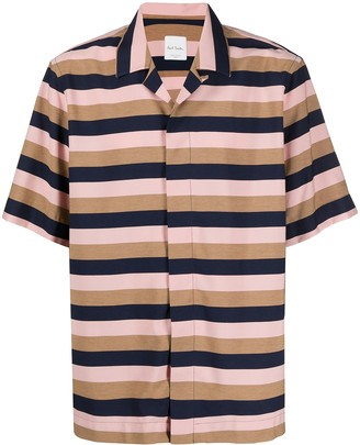 Paul Smith Striped Short-Sleeve Shirt