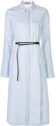 Altuzarra Aster striped shirt dress