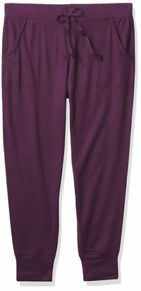 N Natori Women's Sweater Knit Jersey Pant