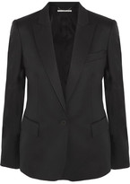 Stella McCartney Ingrid Wool-twill Blazer - Black