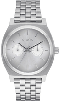 Nixon Time Teller Deluxe Watch Silver