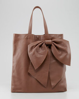 RED Valentino Valentino Red Bow Tote Bag, Brown
