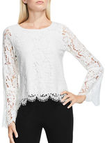 Vince Camuto Long Sleeve Lace Blouse
