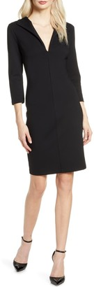 French Connection Ruth Lula Jersey Sheath Dress