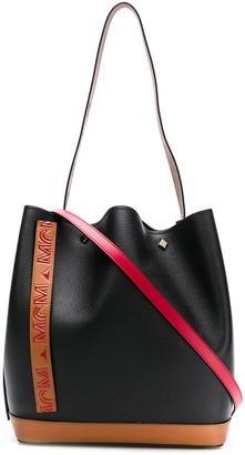 MCM Drawstring Shoulder Bag