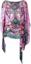 Roberto Cavalli abstract print blouse - women - Silk - 42