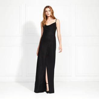 Rachel Zoe Felicitti Stretch Velvet Cowl Neck Gown