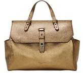 Liebeskind Berlin Idaho Pebbled Leather Top-handle Bag.