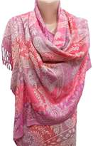 ScarfClub Pashmina Scarf Shawl Wrap Christmas Gifts For Her Paisley Infinity Scarf
