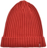Levi's Levis Ribbed Beanie Hat Red