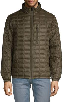 Rainforest Lightweight Reversible Quilted Bomber