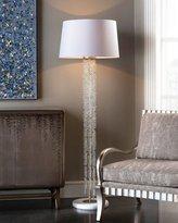 John-Richard Collection Cascading Crystal Waterfall Floor Lamp