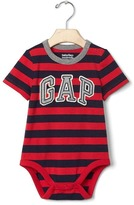 Gap Logo stripe short sleeve bodysuit