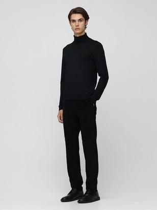 Dolce & Gabbana 16cm Cotton Velvet Pants