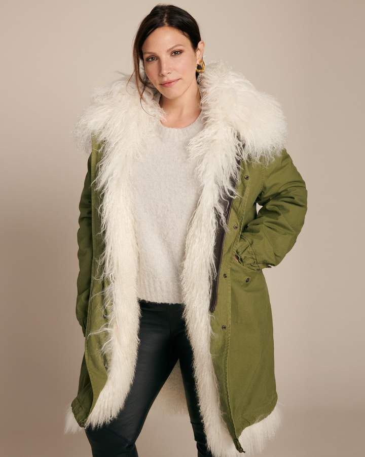 Mr & Mrs Italy Parka with Mongolian Fur Lining