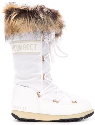 Moon Boot Fur Lined Boots