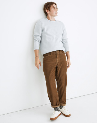Madewell Relaxed Straight Corduroy Jeans