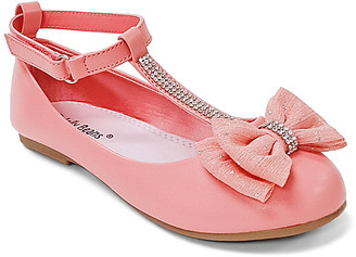 Jelly Beans Girls' Mary Janes CORAL - Coral Cida Mary Jane - Girls
