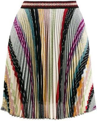 Missoni Short Pleated Skirt