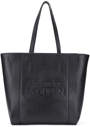 Alexander McQueen Signature Shopper tote bag