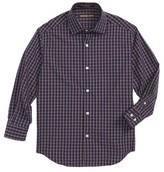 Michael Kors Boy's Check Dress Shirt