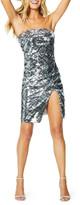 Ramy Brook Kyler Strapless Sequined Cocktail Dress