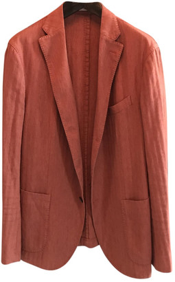 Boglioli Red Cotton Jackets