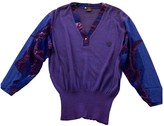 Trussardi Purple Cotton Top for Women