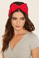 Forever 21 Bow-Front Headwrap