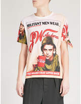 J.W.Anderson Militant Men cotton-jersey T-shirt