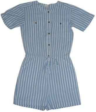 soeur Blue Cotton Jumpsuits
