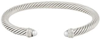David Yurman 5mm Cable Bracelet (Pearl)