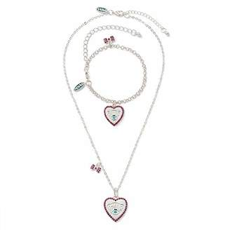 Me To You Heart Tatty Teddy Necklace and Bracelet Gift Set