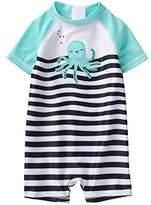 Gymboree Baby Boys 1-Piece Octopus Swimsuit