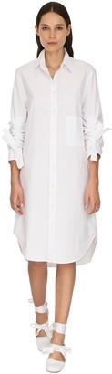 J.W.Anderson Oversize Poplin Shirt Dress