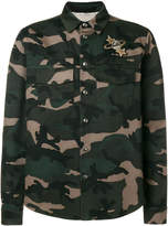 Valentino Lunar Punk embroidered camouflage jacket
