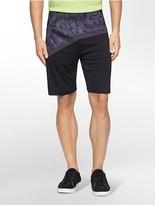 Calvin Klein Performance Print Logo Trainer Shorts