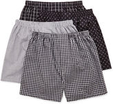 JCPenney Stafford 4-pk. Woven Cotton Boxers