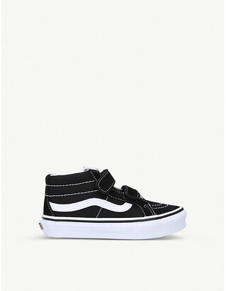 Vans Sk8-Mid suede and canvas high-top trainers 6 months 5 years